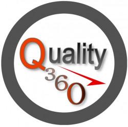 لوجو شركة الجودة 360