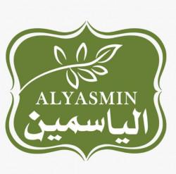 لوجو شركة الياسمين لتجاره وتوزيع المواد الغذائيه