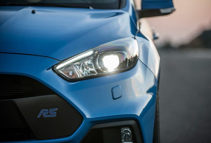 Hid Lamp For Car >> Focus RS Bi-Xenon Lighting | Features | About the Car