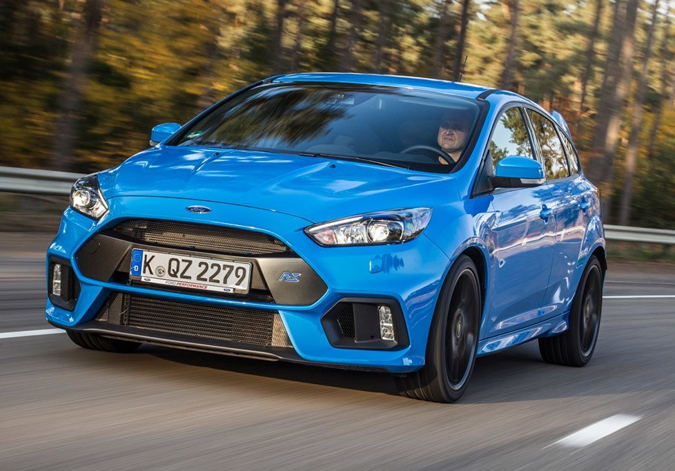 Focus RS Finance  2016 Focus RS Finance Options  Features