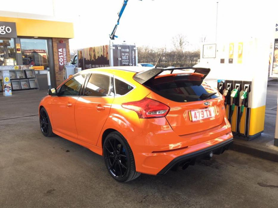 Focus RS Heritage Edition