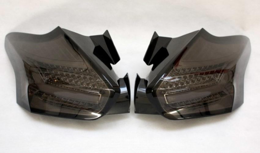 Quantitec LED Taillights Smoked Mk3 Focus RS