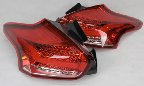 quantitec Red/Clear Rear LED Tail Lights
