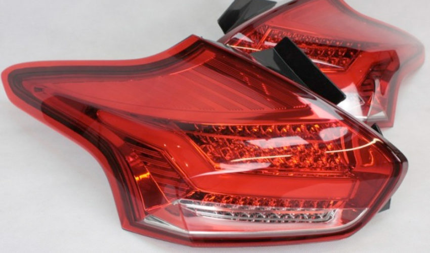 quantitec Red/Clear Rear LED Tail Lights Mk3 Focus RS