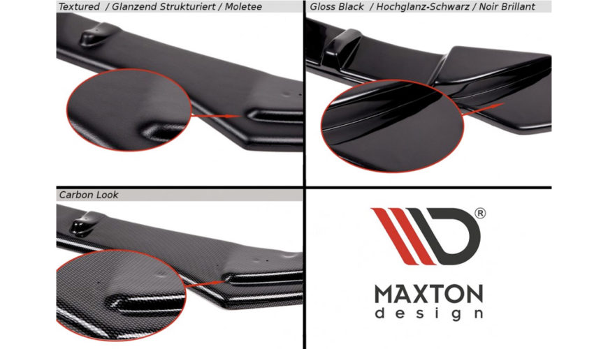 Maxton Design Bonnet Extension Mk3 Focus RS Material
