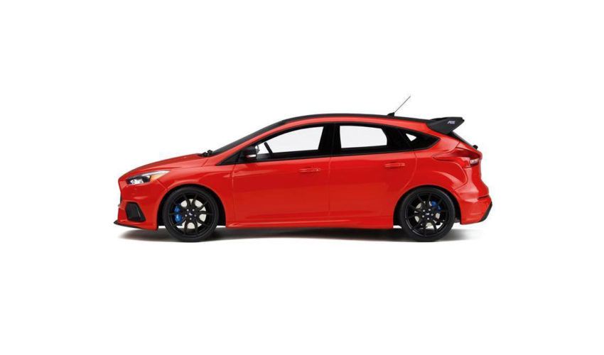 Otto Model Mk3 Focus RS Race Red