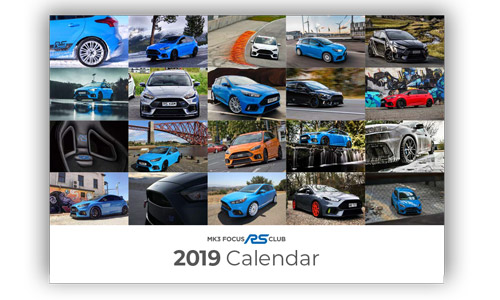 Mk3 Focus RS Club Calendar