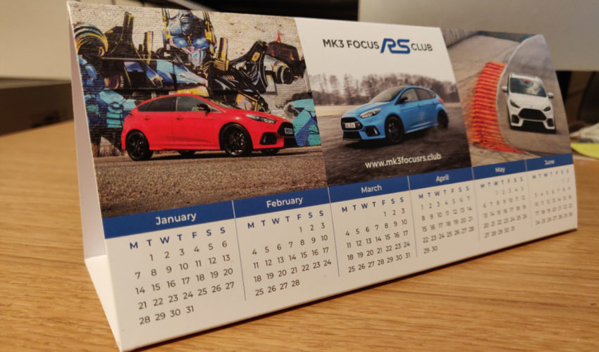 Focus RS Desktop Calendar 2019