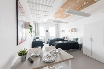Forenom Hostel Helsinki Kutomotie