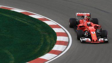 Ferrari Kimi Raikkonen Canadian Grand Prix Practice