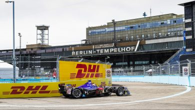 Berlin ePrix Tempelhof Practice DS Virgin Racing