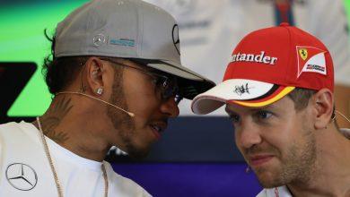 Lewis Hamilton Sebastian Vettel Mercedes Ferrari