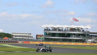Lewis Hamilton Mercedes Silverstone British Grand Prix