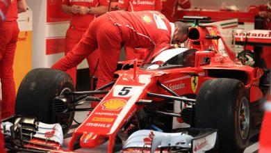 Ferrari Vettel British Grand Prix Silverstone