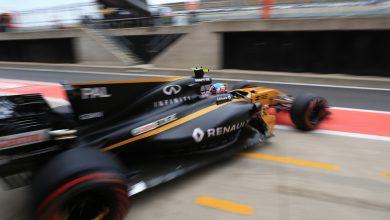 British Grand Prix Formula One Renault Jolyon Palmer