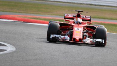 Ferrari Sebastian Vettel British Grand Prix Silverstone