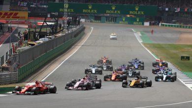 British Grand Prix Race Start