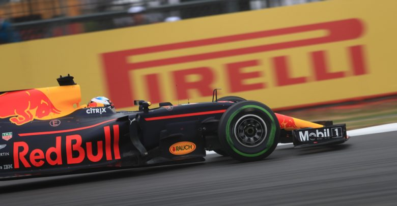 Daniel Ricciardo Red Bull Racing British Grand Prix