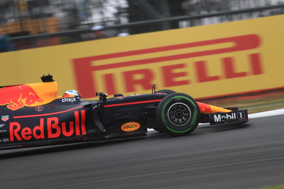 Daniel Ricciardo Red Bull Racing British Grand Prix