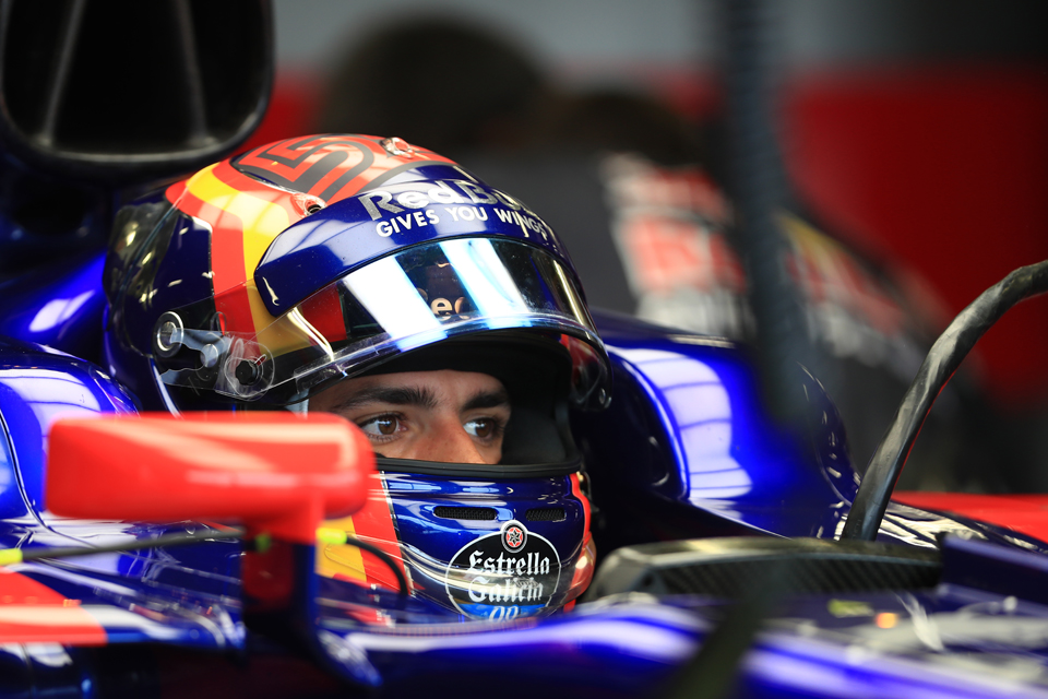 Carlos Sainz Toro Rosso British Grand Prix