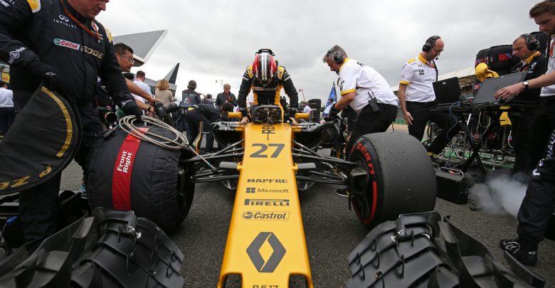 Renault Sport British Grand Prix Grid Nico Hulkenberg