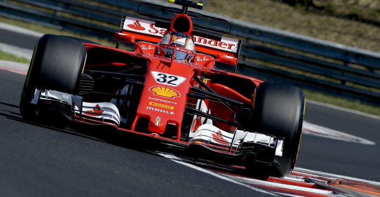 Charles Leclerc Ferrari Budapest Hungaroring In-season test
