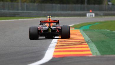 Max Verstappen Belgian Grand Prix FP3