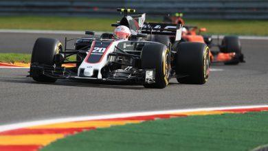 Belgian Grand Prix Qualifying Haas Kevin Magnussen