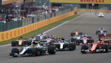 Belgian Grand Prix Hamilton Vettel
