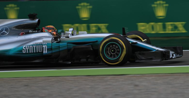 Lewis Hamilton Mercedes Italian Grand Prix