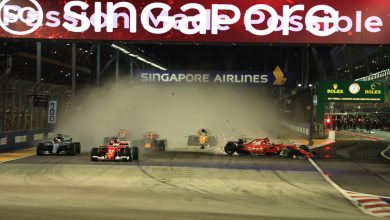 Singapore Grand Prix Race Lap One