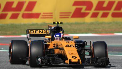 Sergey Sirotkin Renault Barcelona Testing