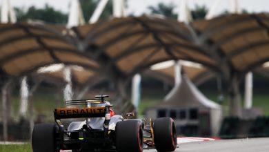 Nico Hulkenberg Renault Malaysian Grand Prix