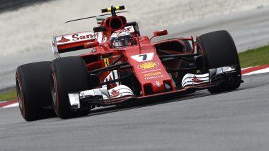 Kimi Raikkonen Ferrari Malaysian Grand Prix