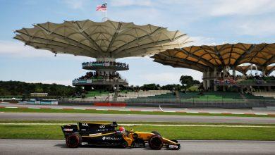 Malaysian Grand Prix Nico Hulkenberg Renault