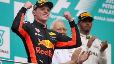 Max Verstappen Red Bull Racing Malaysian Grand Prix