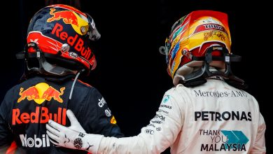 Max Verstappen Lewis Hamilton Red Bull Racing Mercedes Malaysian Grand Prix