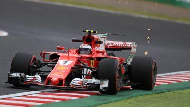 Kimi Raikkonen Japanese Grand Prix Ferrari
