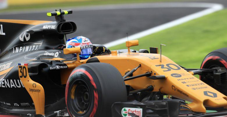Jolyon Palmer Renault Japanese Grand Prix