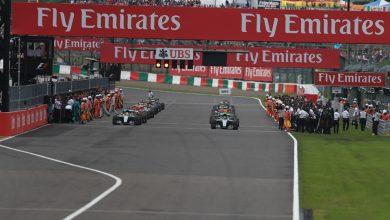 Japanese Grand Prix Grid