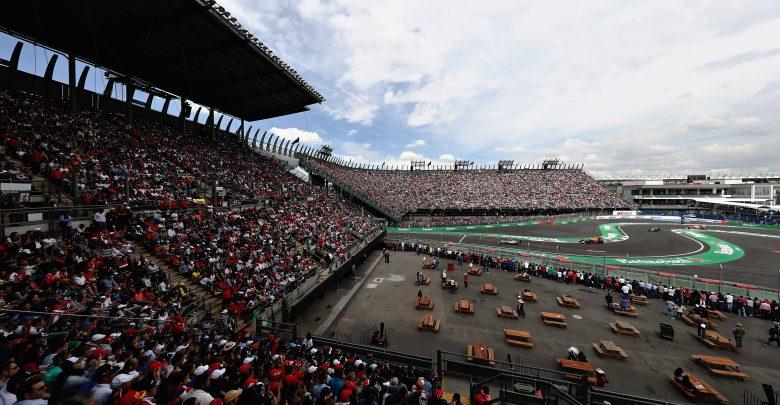 Mexican Grand Prix Results