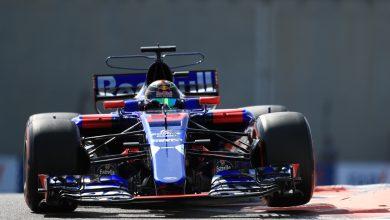 Toro Rosso Abu Dhabi Grand Prix Practice
