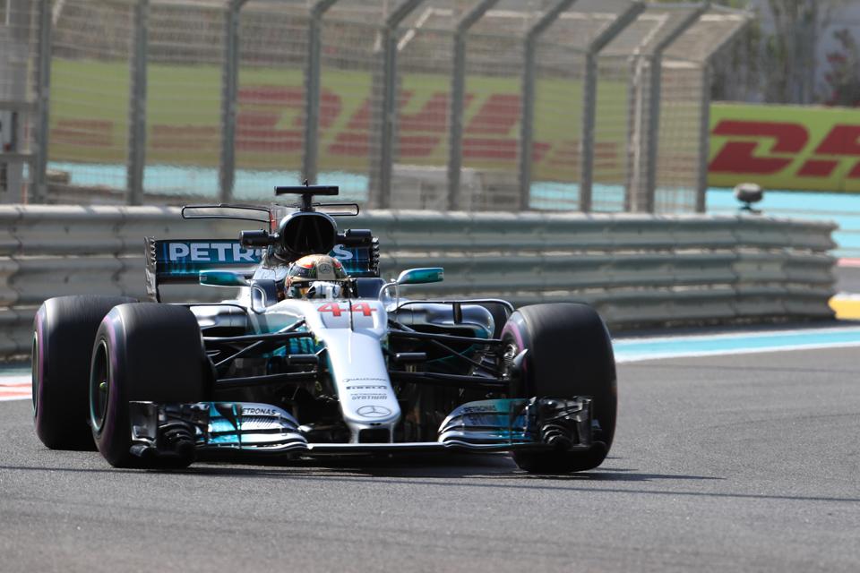 Lewis Hamilton Mercedes Abu Dhabi Grand Prix