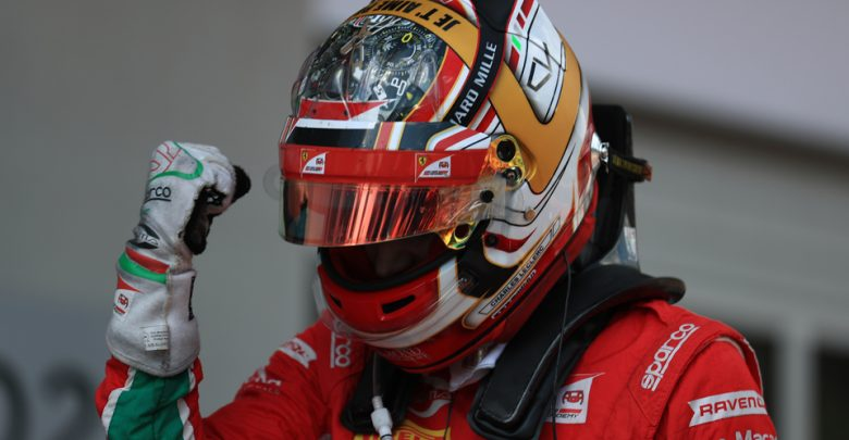 Charles Leclerc Prema Formula Two