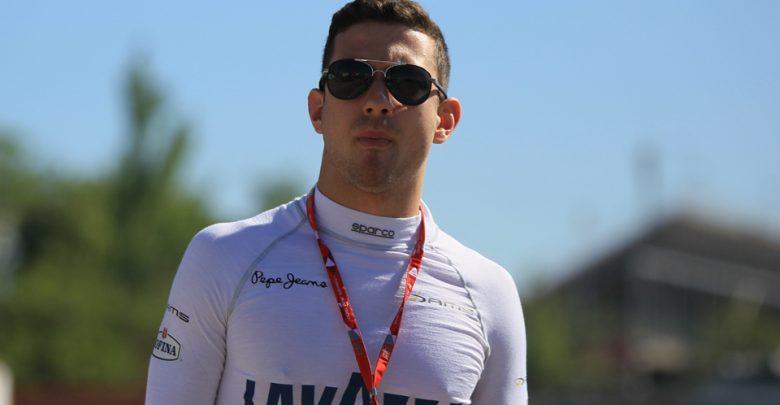 Nicolas Latifi Dams Formula Two
