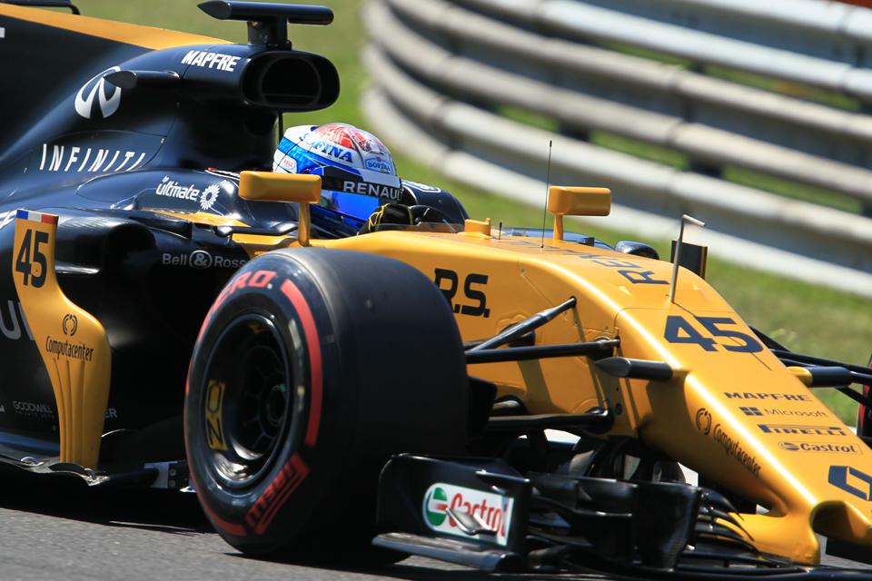Nicolas Latifi Renault Budapest Hungary