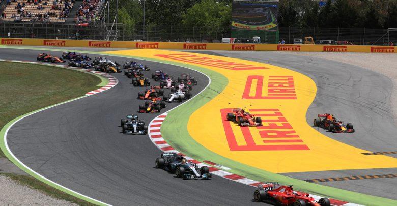 Spanish Grand Prix Start Formula One Barcelona