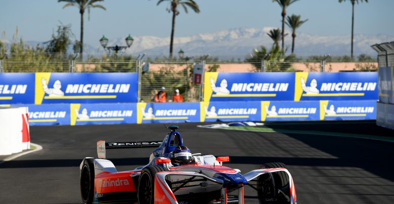 Nick Heidfeld Marrakesh ePrix Mahindra Racing