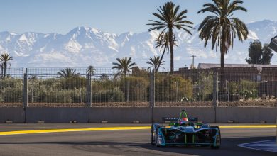 Marrakesh ePrix Nelson Piquet Junior Jaguar