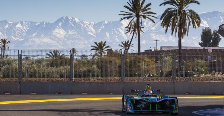 Marrakesh ePrix Nelson Piquet Junior Jaguar